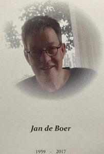 Jan de Boer